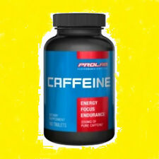 Prolab Caffeine  Maximum Potency 200 mg 100 tablets WorldWide Shipping Pro Lab