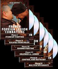 French Foreign Legion Combatives Phases I - VI (FULL DVD SET) w/ Nick Hughes NEW