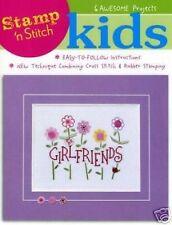 Cross Stitch Chart/Pattern - Stamp 'N' Stitch - 6 Great Kids Designs