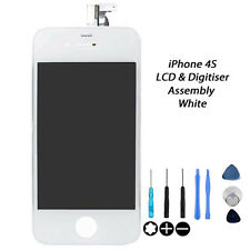 NEW Replacement FOR iPhone 4S 4GS LCD & Digitiser Screen Assembly Repair - WHITE