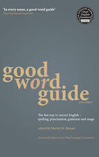 Martin H. Manser Good Word Guide: The Fast Way to Correct English - Spelling, Pu