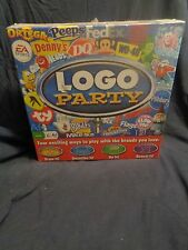 Logo Party Family Board Game Favorite Brands family board game NEW and SEALED