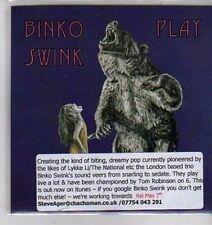 (CX60) Binko Swink, Play - DJ CD