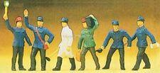 H0 Preiser 10010 Personnel de chemin de fer figurines. EMBALLAGE D'ORIGINE