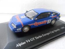 ALPINE V6 GT TURBO EUROPA CUP SPEEDY , 1985 , HACHETTE / ELIGOR , 1/43
