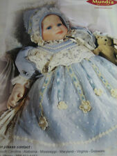 1999 Cecile et Christine Baby THEO Doll Mundia Collection Ad Advertisement