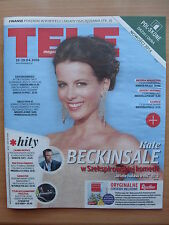 KATE BECKINSALE on front cover TELE MAGAZYN 16/2016