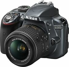 Nikon D3300 DSLR Camera with AF-P 18-55mm VR Lens NEW