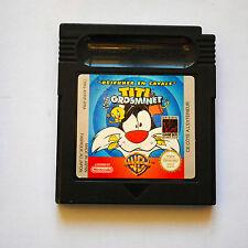 Jeu TITI et GROS MINET DEJEUNER EN CAVALE pour Nintendo Game Boy