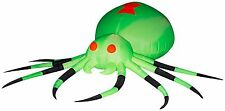 Gemmy Airblown Inflatable Neon Airblown Giant Spider