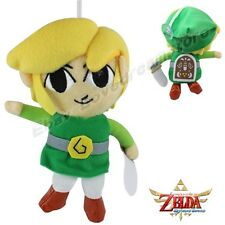 "The Legend of Zelda Link Sword and Shield Ver. 19cm/7.6"" Plush Toy Doll"