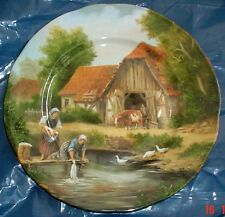 M G Fine Bone China Norwich England VILLAGE LIFE - WASHING DAY