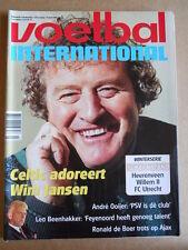 VOETBAL INTERNATIONAL 14-01-1998  Wim Jansen  [P66]
