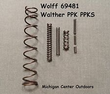Walther PPK PPKS Pistol Spring Service Pak 9mm (.380) Wolff  69481