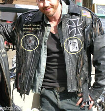 AS seen ON MOVIE WILD HOGS OUTLAW MC GANG COLLECTIONS: SPIDER WEB CROSS + SKULL