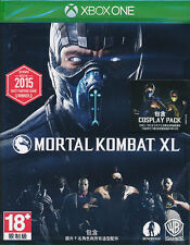 Mortal Kombat XL (with Cosplay Pack DLC) Xbox One Game BRAND NEW SEALED