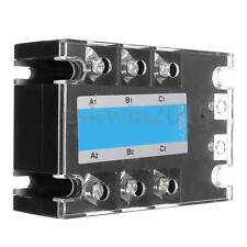 Three Phase 3-Phase DC AC Solid State Relay SSR-20A 20A 3-32VDC Input/480VAC Out