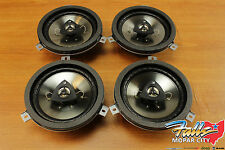 2004-2016 Chrysler Jeep Dodge 6.5inch Kicker Speaker Upgrade Set of 4 Mopar OEM