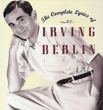 The Complete Lyrics of Irving Berlin, General, History & Criticism, General AAS,