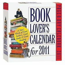 Book Lover's 2011 Page-A-Day Calendar BRAND NEW, READ, NOVEL, YEAR, MONTH, GUIDE