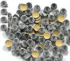 MEDALLIONS Designer  RHINESTUDS 5mm Hot Fix 1 gross  SILVER