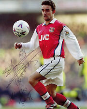 Marc Overmars - Arsenal - Signed Autograph REPRINT