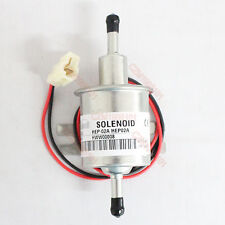 New 12V Lightweight Electric Fuel Pump Bolt Fixing Wire Diesel Petrol HEP-02