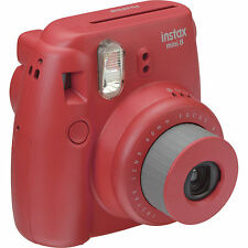 Fuji Instax Mini 8 Instant Film Camera (Raspberry) Fujifilm
