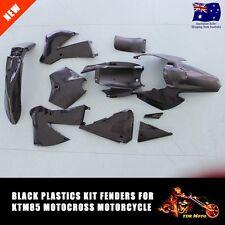 NEW BLACK Plastics Fairing Full Fender for KTM85 KTM 85 2006-2012 SX85 SX85