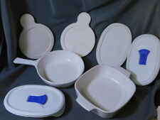 Corning Ware DISHES & LIDS ~ mixed 7 Piece Lot