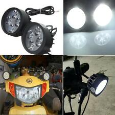 Motorcycle Mirror Mount LED Driving Fog Spot Light Spotlight For Honda KTM BMW