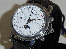 "JEAN MARCEL . W/SWISS VALJOUX 7751 MOVEMENT"" HARD TO FIND"