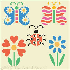 "CHILDREN""S BUTTERFLY STENCIL SET - The Artful Stencil"