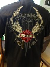 Harley-Davidson Mechanic Shirt Black M