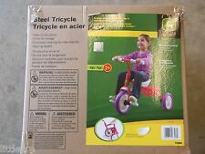 JOHN DEERE NEW IN BOX PINK TRI-CYCLE AGES 2 AND UP ADULT ASSEMBLE REQUIRED
