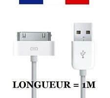 CABLE USB 30 BROCHES POUR IPHONE 3G/3GS/4/4S, IPOD TOUCH/NANO/CLASSIC, IPAD...