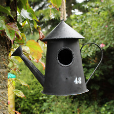 New Watering Can Hanging Garden Bird House Egg Nesting Box Tree Garden Ornament