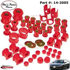 Prothane 14-2005 Total/Master Bushing Kit for Nissan/Datsun 240SX-S13 Poly