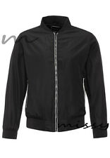 NEW Mens Harrington Jacket by Brave Soul Biker Bomber Thin Lightweight MA1 CoatS