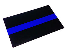 "3m US MADE Reflective Thin Blue Line Sticker Decal Police Support  FOP  4"" x 2"""