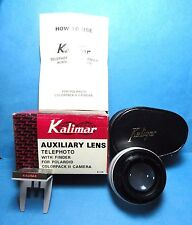 New Kalimar Auxiliary Telephoto Lens For Colorpack II Camera Never USed