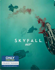 SKYFALL 007  BOND {Blu-ray + Digital HD} Limited Edition Steelbook NEW USA