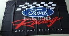 Ford Racing Black Checkered 3 x 5 Flag Banner MAN CAVE RACE SHOP!!!