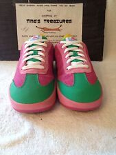 Reebok Ice Cream BBC Pharrell Boardflip Skate Shoes Sneakers Size 5Y Pink Green