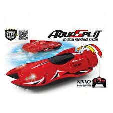 Nikko Radio Control Aquasplit Speed Boat Jet Lights Safety Sensor 27MHz 1:16 Toy