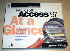 Microsoft Access 97 At A Glance Visual Reference Guide Microsoft Press MS Office