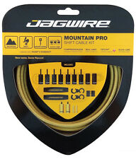 Jagwire Mountain Pro Complete Derailleur Cable & Housing Kit - Gold Medal