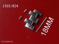 OMEGA SEAMASTER ORIGINAL 1502/824 LINK+ PIN + 2 X TUBES - JAMES BOND 1501 1502