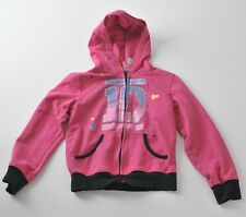 Girls Kid's One Direction Fleece Hoodie Jacket size S (6/6x)  Pink Hearts Cute !
