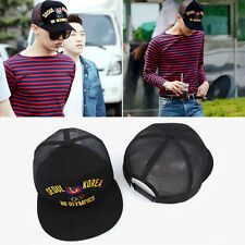 G-DRAGON GD BLACK BIGBANG MADE SNAPBACK HAT CAP KPOP GOOD BOY TAEYANG